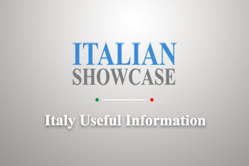 Italy Useful Information